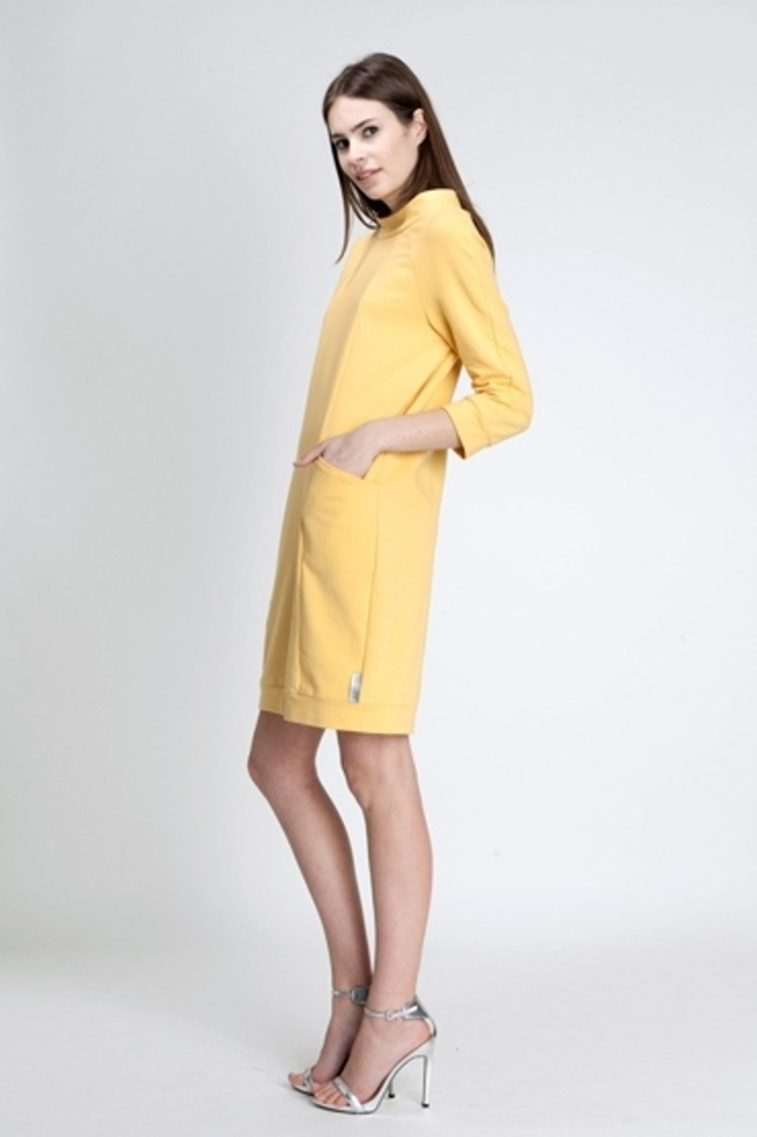 Sukienka Luiza yellow
