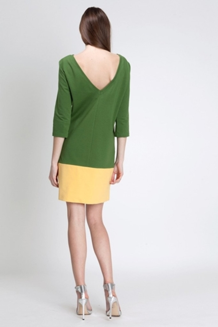 Sukienka Albali green - yellow