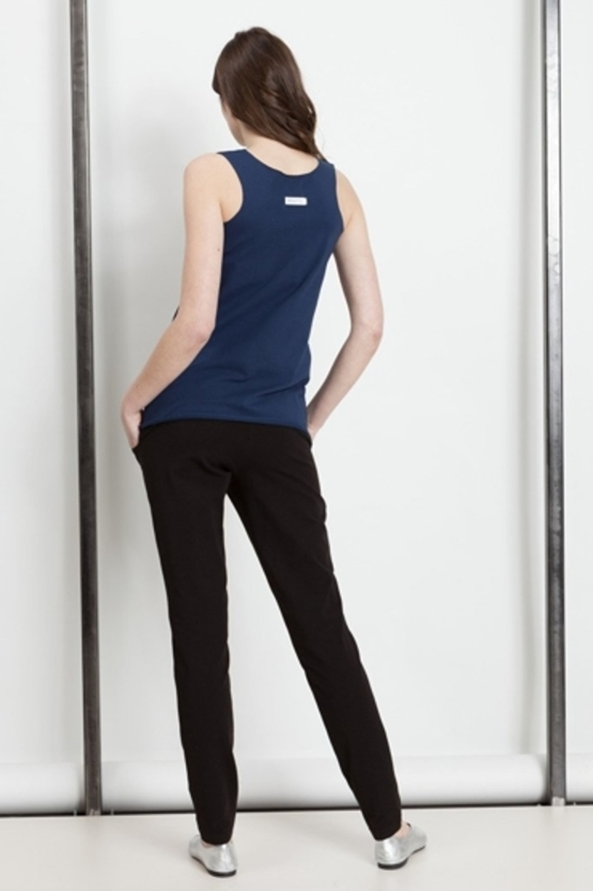 Tank top Tina navy blue - 30%